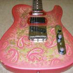 Fender Japan Paisley Telecaster © 2013 Guitar Angel