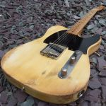 GA Customs 1951 Esquire extreme relic guitar © 2013 Guitar Angel