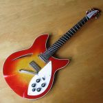 1985 Rickenbacker 330 guitar - restored and modified, fanned frets © 2013 Guitar Angel